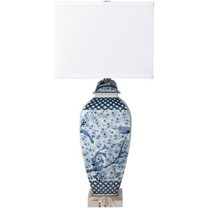 Muse Blue Table Lamp