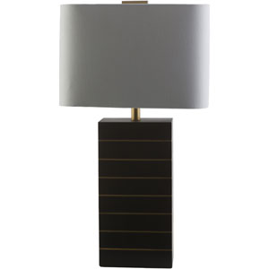 Maxwell Black and Gold One-Light Table Lamp