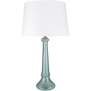 Niall Sky Blue and White One-Light Table Lamp