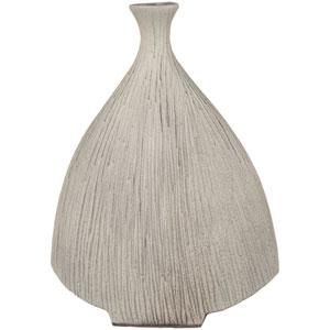 Natural Medium Taupe Table Vase