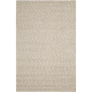 Neravan Cream and Taupe Rectangular: 8 Ft. x 10 Ft. Rug