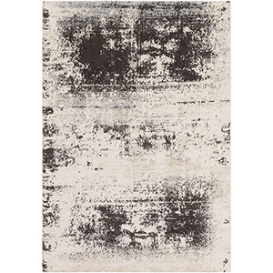 Notting Hill Taupe and Ivory Rectangular: 5 Ft. 3 In. x 7 Ft. 6 In. Rug
