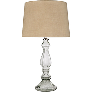 Newman Light Grey and Wheat One-Light Table Lamp