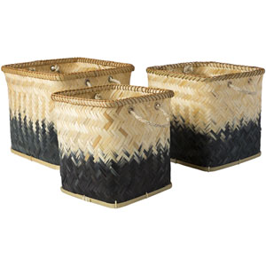 Naturita Butter and Black Basket