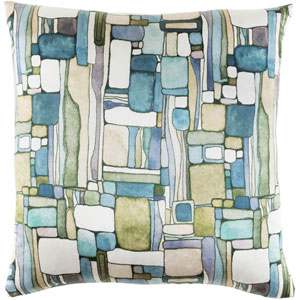 Natural Affinity Multicolor 20 x 20-Inch Pillow Cover