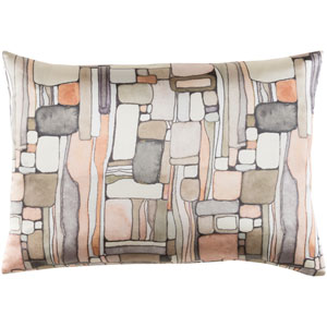 Natural Affinity Multicolor 13 x 19-Inch Throw Pillow