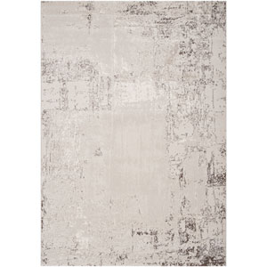 Nuage Light Gray Taupe and Off White Rectangular: 2 ft. 2 in. x 3 ft. 3 in. Rug