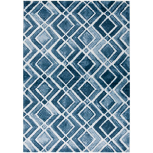 Nova Blue Rectangular: 7 Ft. 8-Inch x 10 Ft. 6-Inch Rug