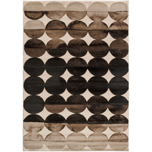 Nova Brown Rectangular: 3 Ft. 9-Inch x 5 Ft. 2-Inch Rug