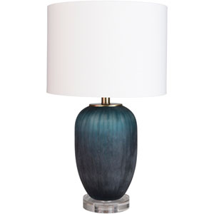 Oliver Blue Table Lamp