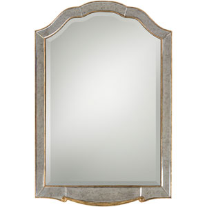 Oleander Champagne Wall Mirror