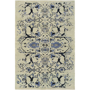 Opulent Blue Rectangular: 6 Ft x 9 Ft Rug