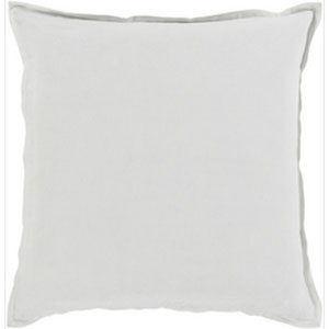 Orianna Ivory 22-Inch Pillow with Poly Fill
