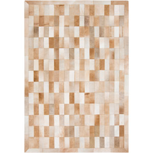 Outback Tan and Ivory Rectangular: 2 Ft x 3 Ft Rug