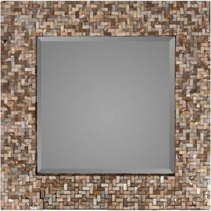Overton Neutral Square Wall Mirror
