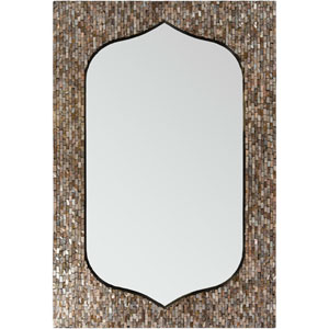 Overton Neutral Rectangle Wall Mirror