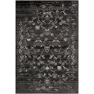Paramount Black and Gray Rectangular: 2 Ft x 3 Ft Rug