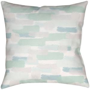 Seaside Splendor Seafoam 18 x 18-Inch Throw Pillow