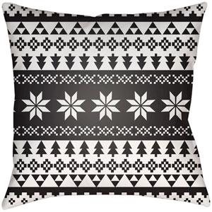 Snowflake Sweater White 16 x 16-Inch Throw Pillow
