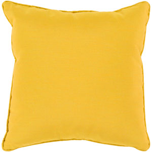 Piper Mustard 20 x 20-Inch Throw Pillow