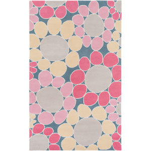 Peek-A-Boo Pink Rectangular: 3 Ft x 5 Ft Rug