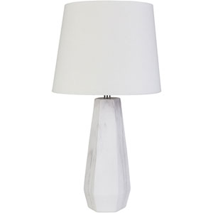 Palladian White Table Lamp