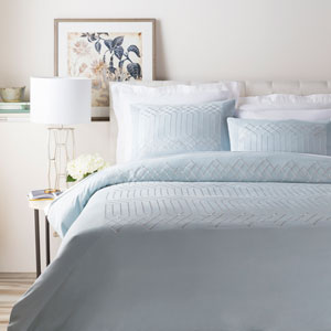 Plaza Blue Full/Queen Duvet