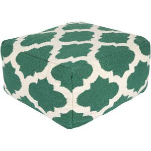 Lattice Green Pouf