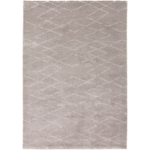Perla Charcoal and Light Gray Rectangular: 2 Ft x 3 Ft Rug