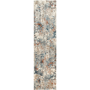 Pune Taupe Runner: 2 Ft. 7 In. x 10 Ft. 3 In. Rug
