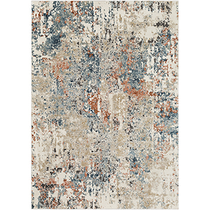Pune Taupe Rectangular: 6 Ft. 7 In. x 9 Ft. 6 In. Rug