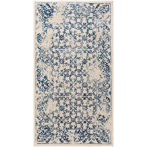 Priyanka Blue Rectangular: 2 Ft. 2-Inch x 4 Ft. Rug