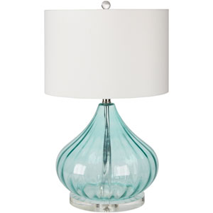 Pyrus Transparent Blue One-Light Table Lamp