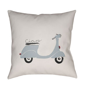 Ciao Multicolor 18 x 18-Inch Throw Pillow