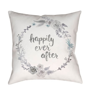 Ever After Multicolor 18 x 18-Inch Throw Pillow