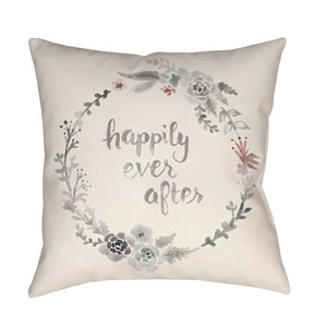 Ever After Multicolor 20 x 20-Inch Throw Pillow