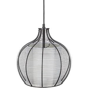 Quinton Black 12-Inch One-Light Pendant