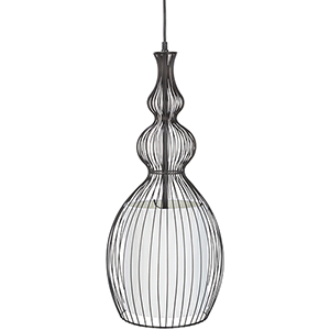 Quinton Black 11-Inch One-Light Pendant