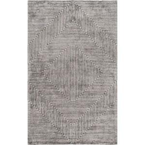 Quartz Slate and Light Gray Rectangular: 6 Ft x 9 Ft Rug