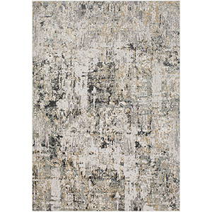 Quatro Silver and Beige Rectangular: 9 Ft. 3 In. x 12 Ft. 3 In. Rug