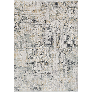 Quatro Silver Grey Rectangular: 9 Ft. 3 In. x 12 Ft. 3 In. Rug