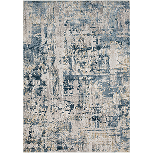 Quatro Denim Rectangular: 5 Ft. 3 In. x 7 Ft. 3 In. Rug