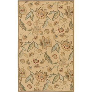 Rain Tan Rectangular: 5 ft. x 8 ft.Rug