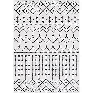 Rabat White Rectangular: 2 Ft. x 3 Ft. Rug