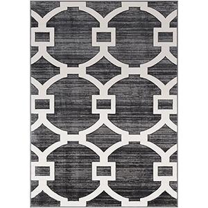 Rabat Charcoal Rectangular: 2 Ft. x 3 Ft. Rug