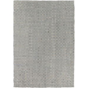 Rock Gray Rectangular: 2 Ft x 3 Ft Rug