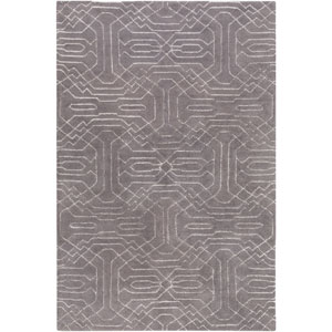 Ridgewood Gray Rectangular: 2 Ft x 3 Ft Rug by Alexander Wyly