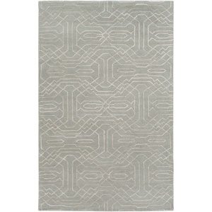 Ridgewood Gray and Neutral Rectangular: 4 Ft x 6 Ft Rug by Alexander Wyly