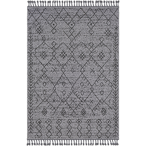 Restoration Grey and Charcoal Rectangular: 2 Ft. x 3 Ft. Rug