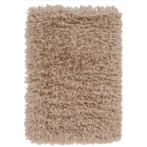 Rhapsody Beige and Gold Rectangular: 9 Ft x 12 Ft Rug